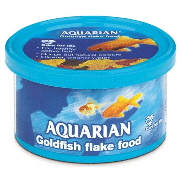 Aquarian Goldfish Flake All Sizes ---------- From