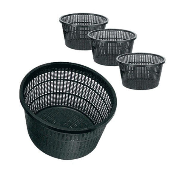 Aquatic Plant Baskets Round 13 cm Pk of 10